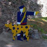 Stahlfiguren farbig lackiert