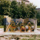 Klinkerskulptur Berlin- Friedrichshain
