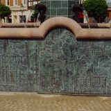 Marktbrunnen Schmölln, Detail