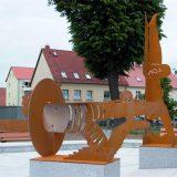 """Brunnen """"Stadtbad"""" Detail"""